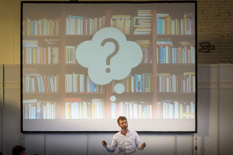 deGUT 2015 Keynote des deGUT-Repräsentaten Markus Witte, Babbel © deGUT / Fotograph: André Wagenzik
