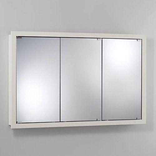 Jensen Medicine Cabinet Granville Tri-View 48W x 30H in ...