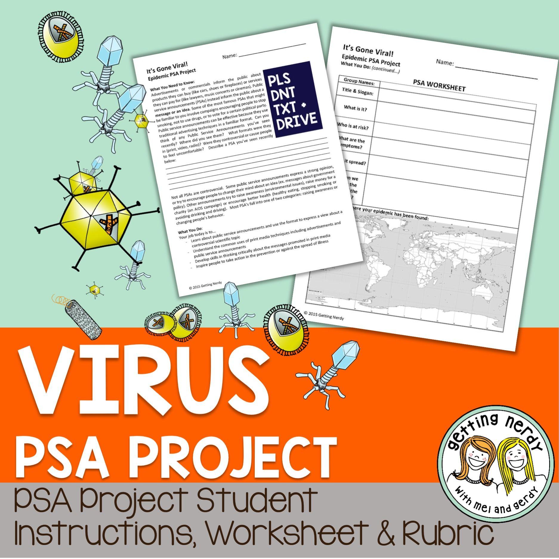 Epidemic Public Service Announcement Project