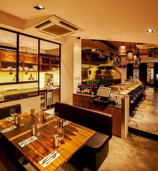 Zafferano Singapore Bar Lounge Restaurant Bar Restaurant