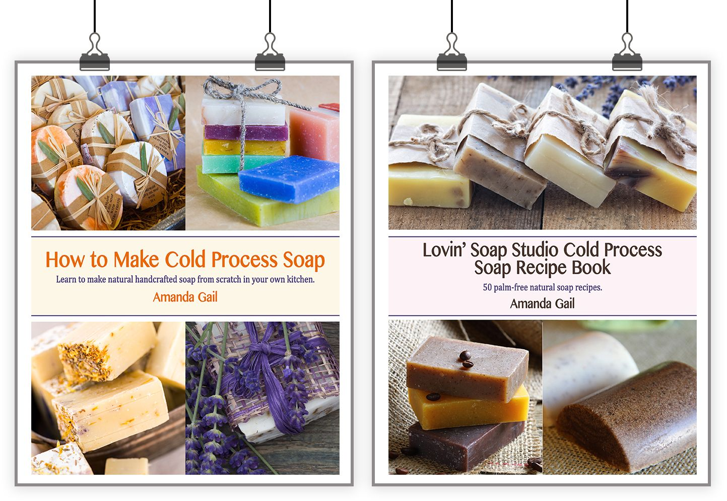 How to make cold process soap ebook and recipe ebook 2