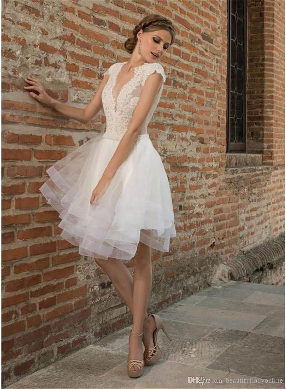 Image result for short wedding dresses color wedding in