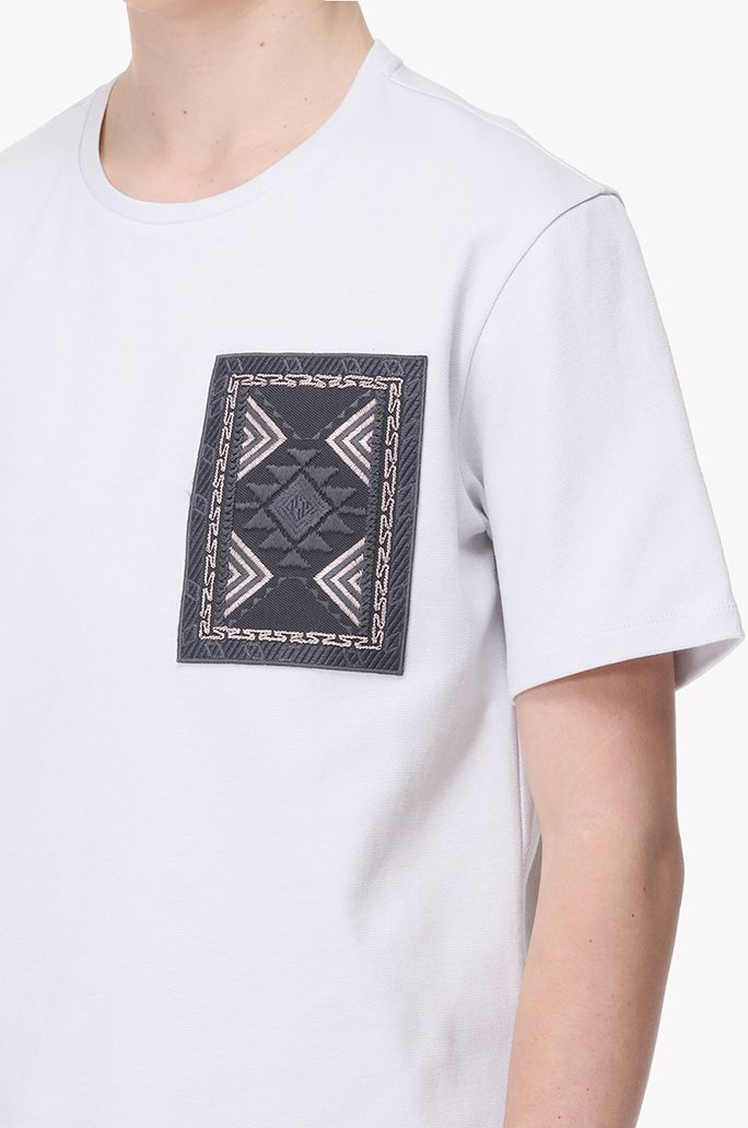 Ethnic patch T shirt