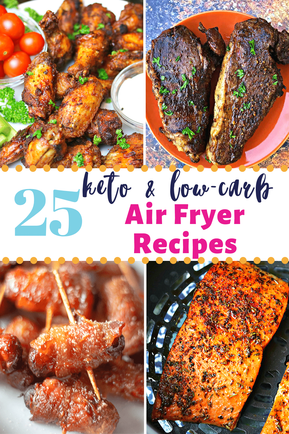 25 Easy Lowcarb & Keto Air Fryer Recipes for Every Meal