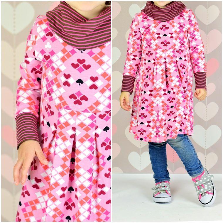 lillesol & pelle Schnittmuster/ pattern: Kleid mit Rollkragen ...