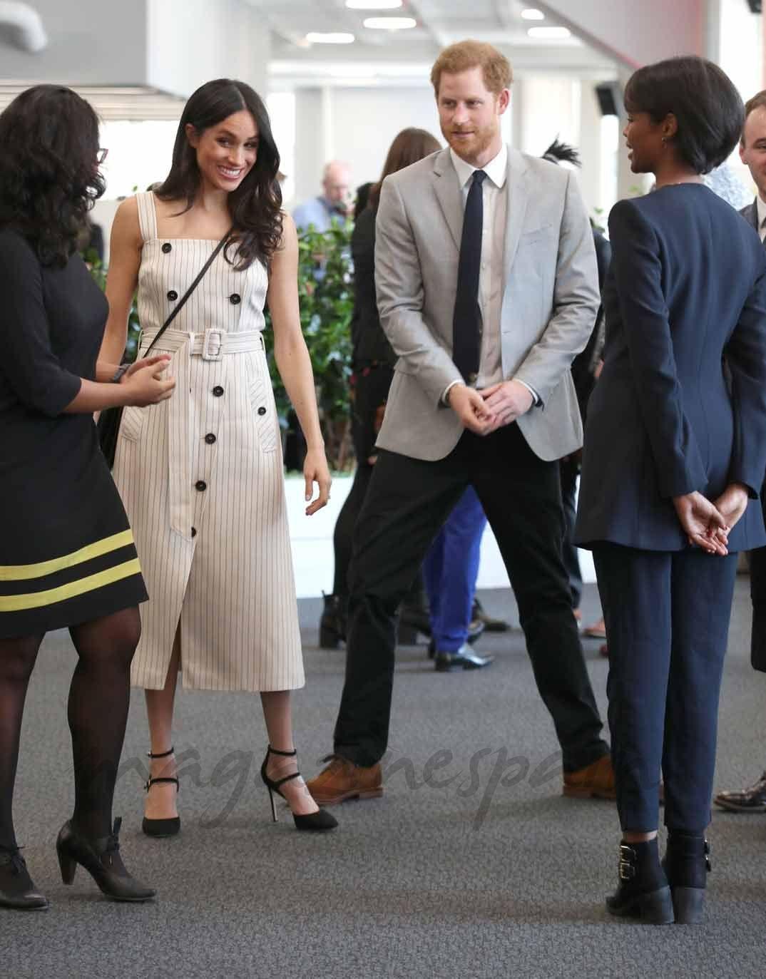 La complicidad del príncipe Harry y Meghan Markle un mes antes de su boda 4927c867e5f