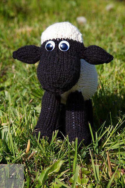 the Shaun knitting pattern☜♥☞