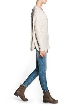 MANGO - CLOTHING - A/W 2013 CATALOGUE - Cardigans and sweaters - Oversize mohair wool-blend sweater