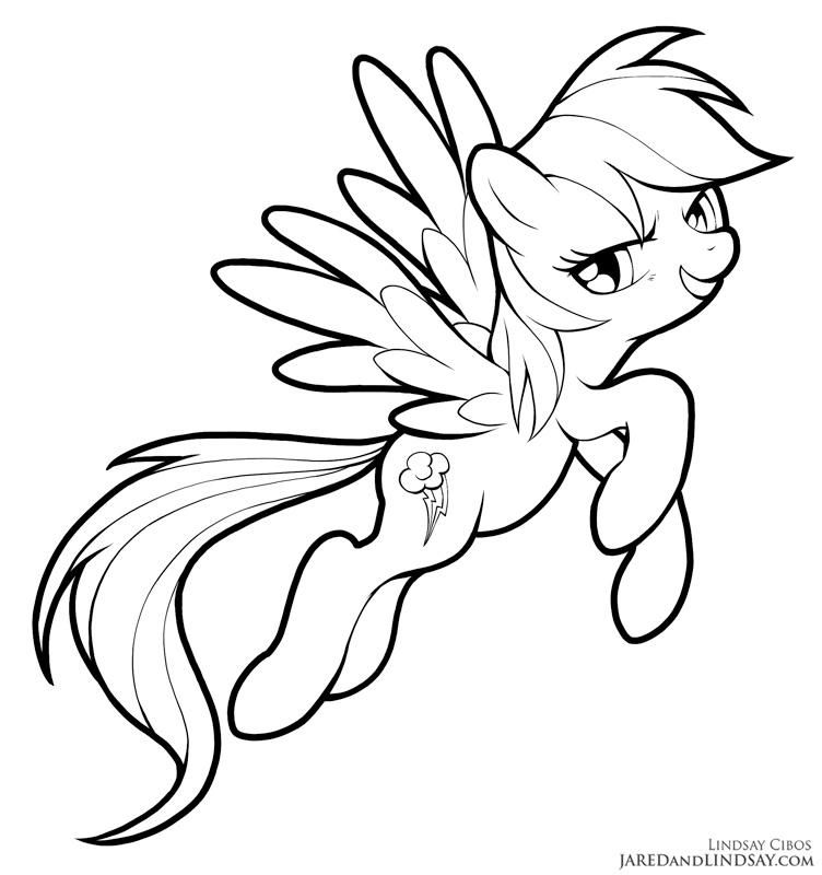 Rainbow Dash By Lcibos My Little Pony Coloring Unicorn Coloring Pages Horse Coloring Pages