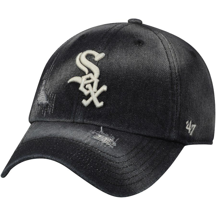 best sneakers beba3 77de1 Men s Chicago White Sox  47 Black Loughlin Clean Up Adjustable Hat, Your  Price   27.99