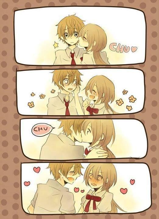 Приколы в картинках аниме любовь