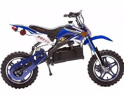 Rosso Kids Dirt Bike Ride On Electric Motocross Motorcycle For