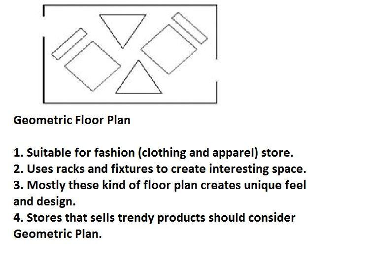 Types Of Retail Floor Plan 3 Geometric Floor Plan Geometric Floor How To Plan Geometric