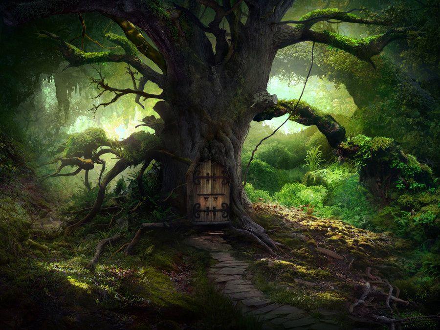 Картинки волшебный дуб