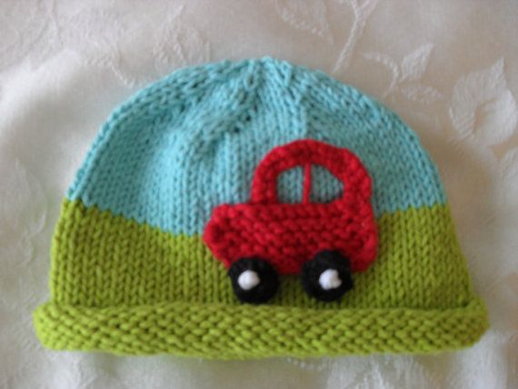 Knitted Hat Pattern Baby Hat Pattern Infant Hat Pattern Newborn Hat ...