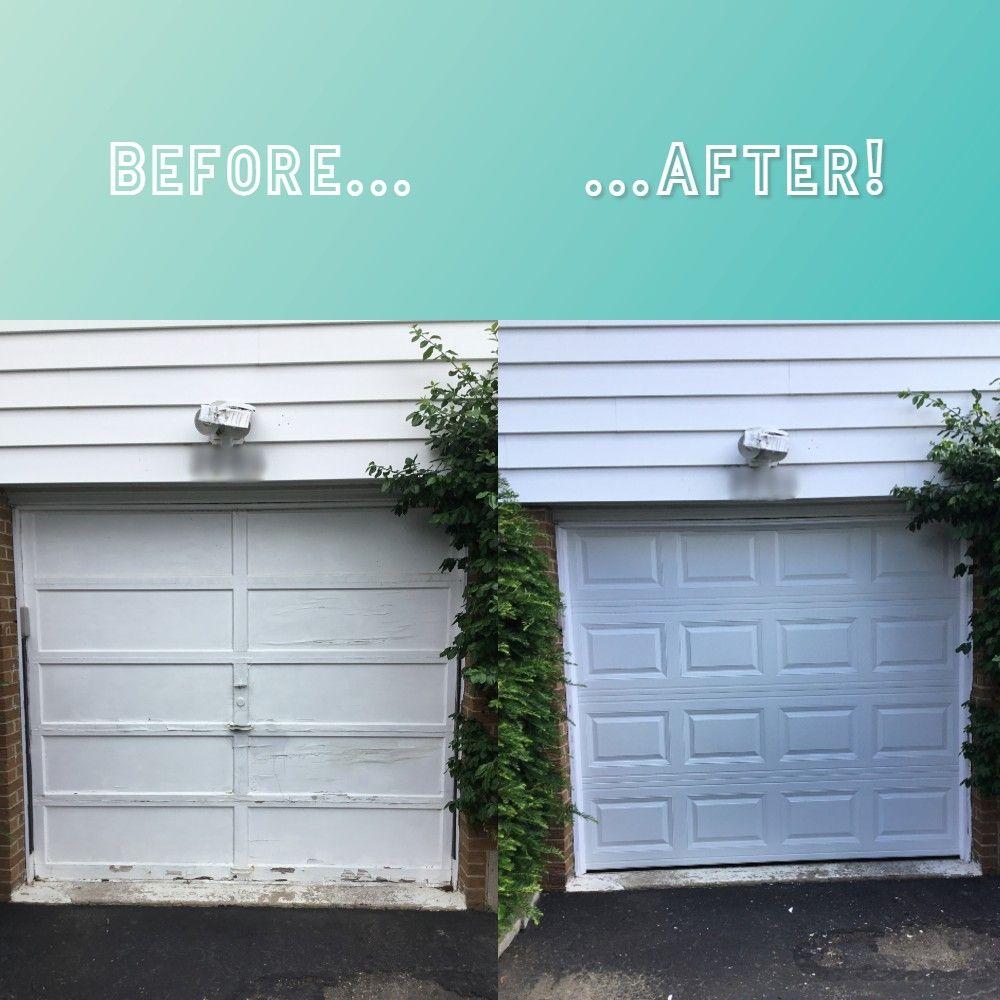 Before And After Sears Garage Doors In 2020 Garage Doors Door Repair Garage Door Springs