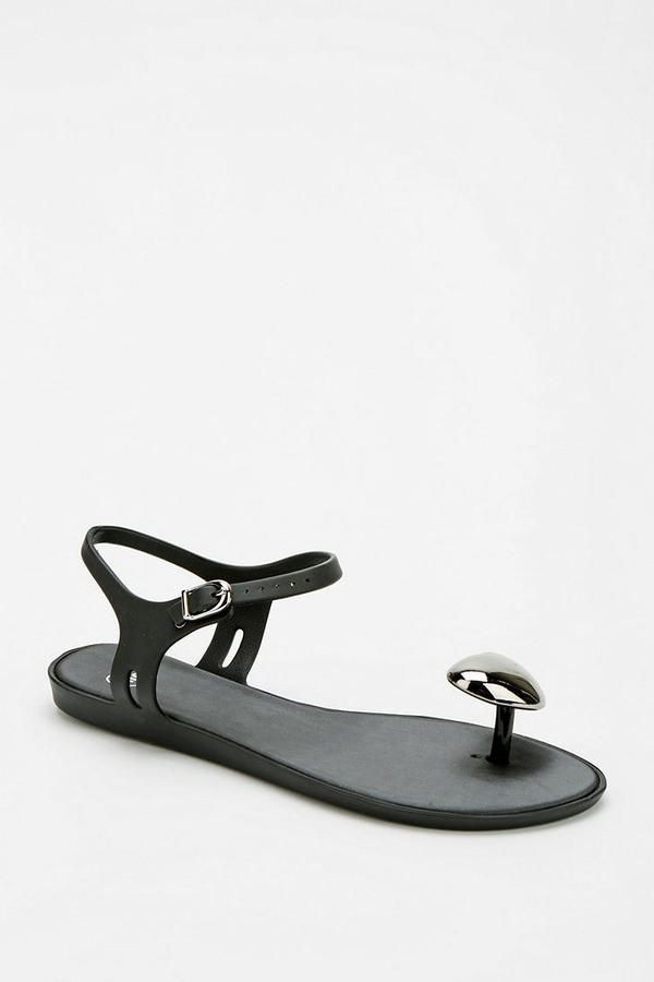 814a78b32 UO Mel By Melissa Shoes Heart Thong Sandal on shopstyle.com   Womens ...