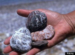 Hot Rocks~Rocks From Beach Set Fire To Woman's Pants