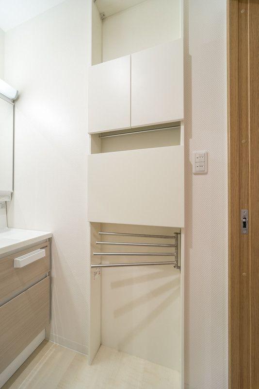 家事動線の良い間取り キッチンから洗面 洗濯場 お風呂に近い動線