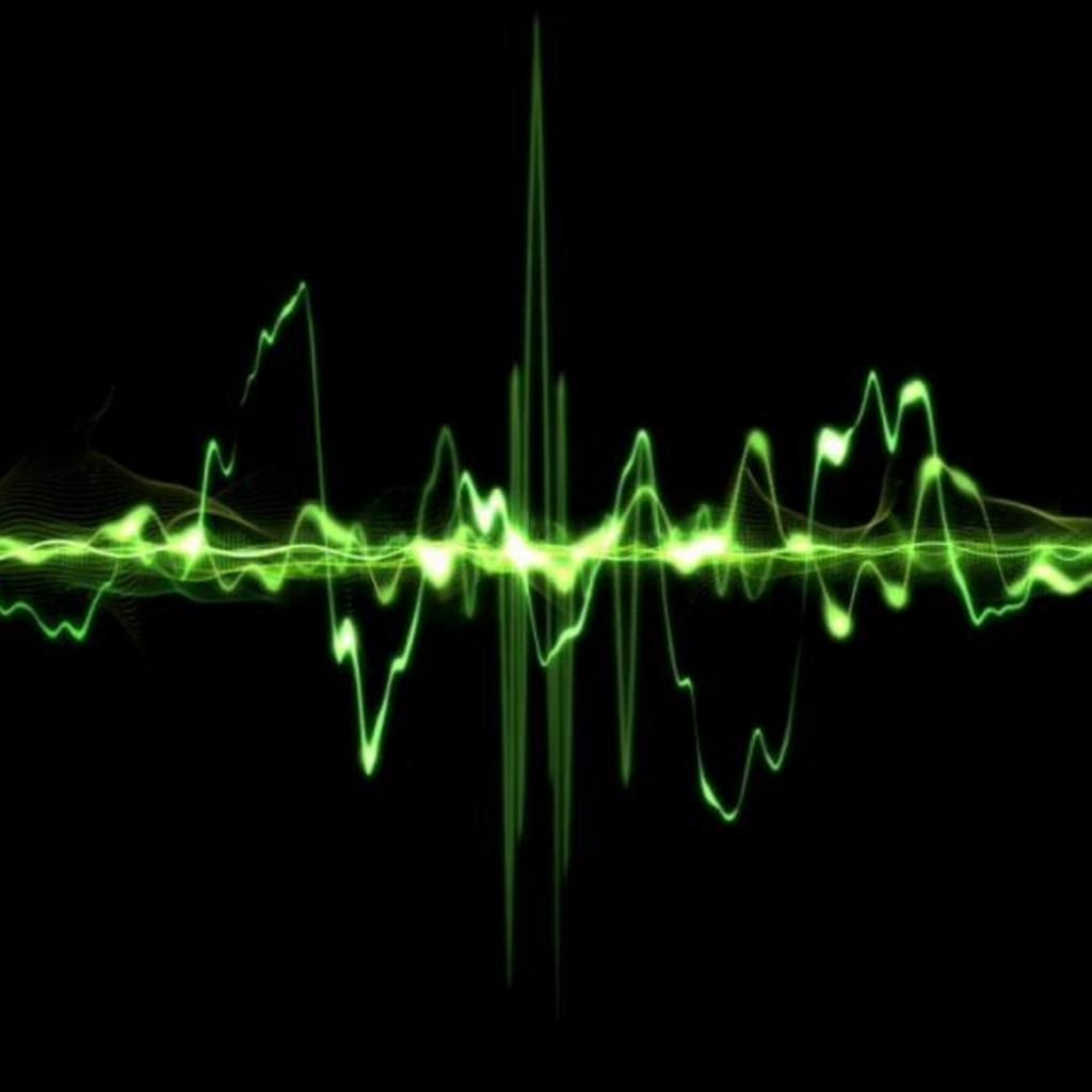 Sound Wave Gif Background Sound Waves Abstract Wallpaper