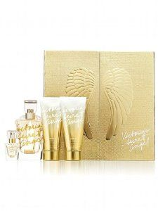 Victorias Secret Angel Gold 4 Piece Perfume Deluxe Gift Set By