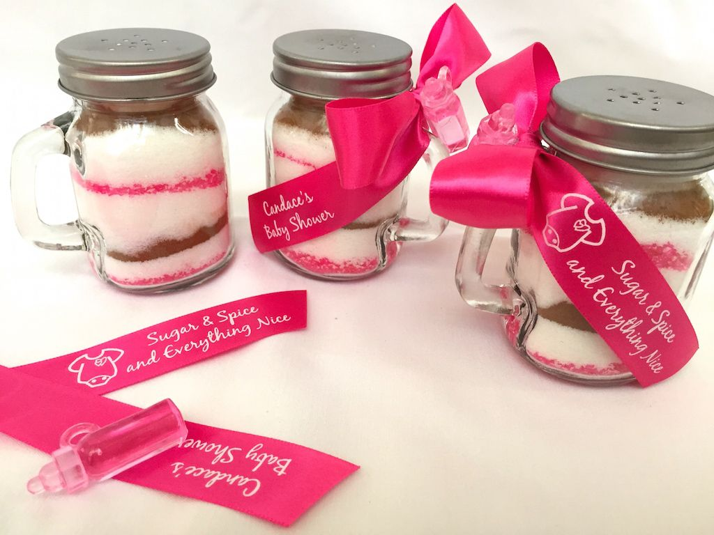 Sugar And E Baby Shower Favor Idea With Images