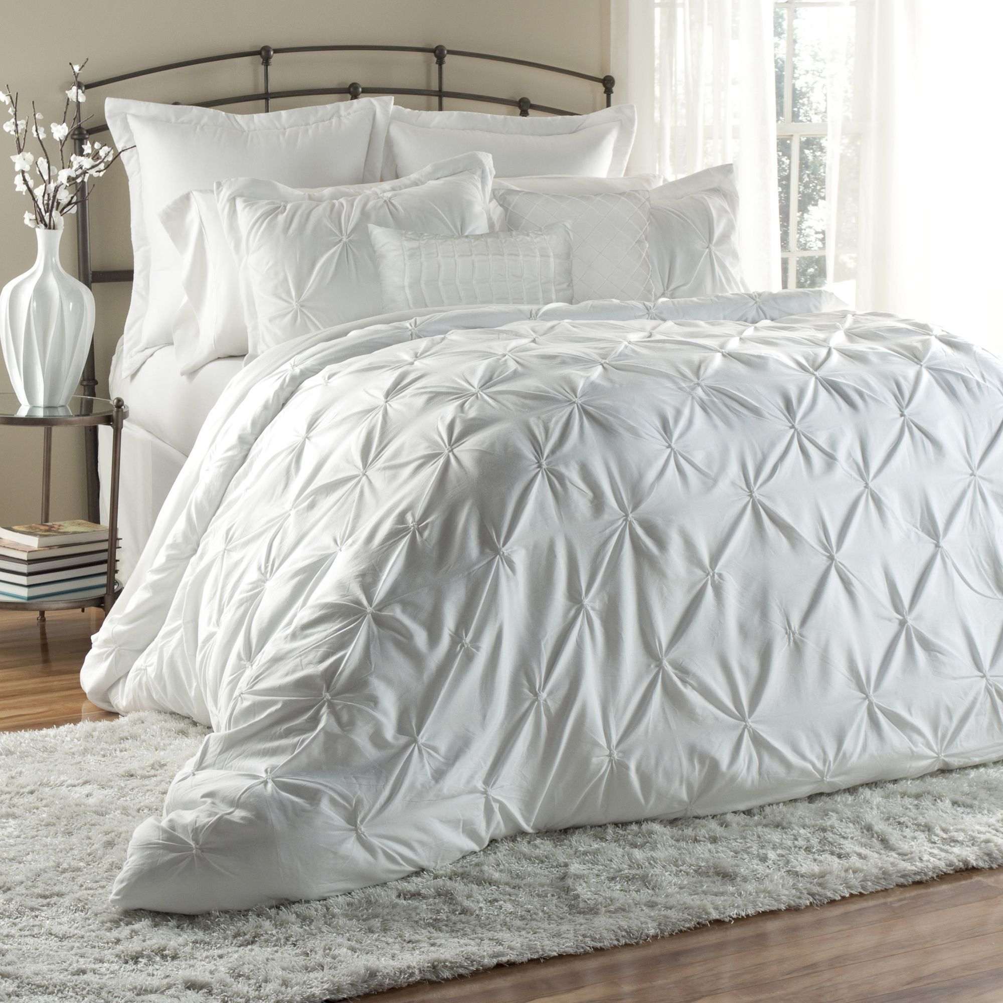 Lush Decor Lux 6 Piece Comforter Set Ping Great Deals On Sets