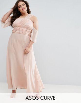 Maxikleider beige dress