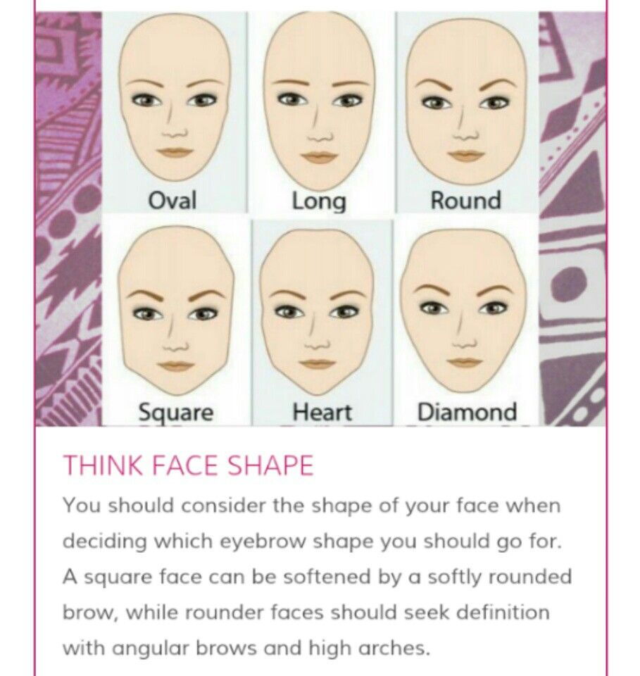 Think Face Shape Makeup Tips Pinterest Face Shapes And Make Up