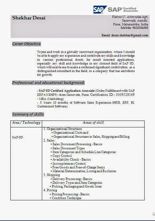 biodata application Sample Template Example ofExcellent Curriculum - Job Resume Format Download