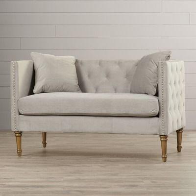 sofa tufted storage velvet bench kinfine loveseat settee