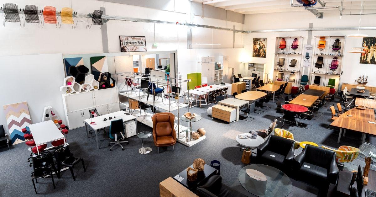 Diesen Samstag ist der office4sale Büromöbel