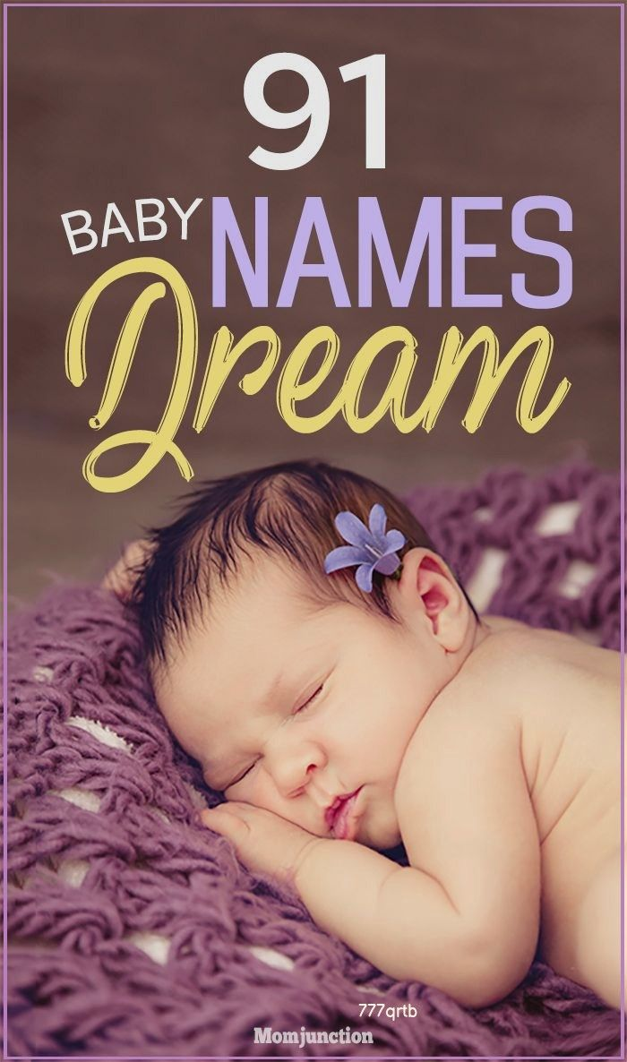 92 Amazing Baby Names Meaning Dream in 2020   Baby names ...