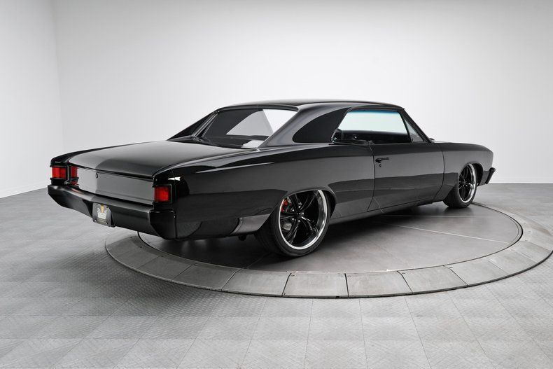 custom 67 impala blac on black 1967 chevrolet chevelle for sale classic car ad from. Black Bedroom Furniture Sets. Home Design Ideas