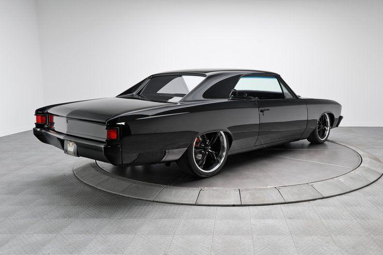 Custom 67 Impala Blac On Black 1967 Chevrolet Chevelle For Sale