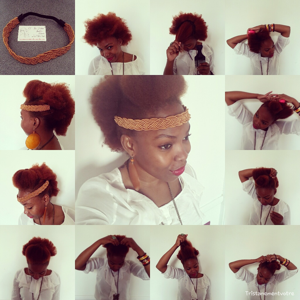 Coiffure Afro Bandeau Headband Et Cheveux Afro College Hairstyles