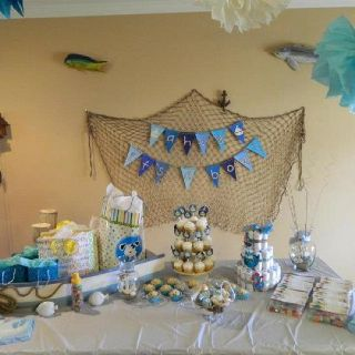 nautical themed baby shower craftiness Pinterest Babies
