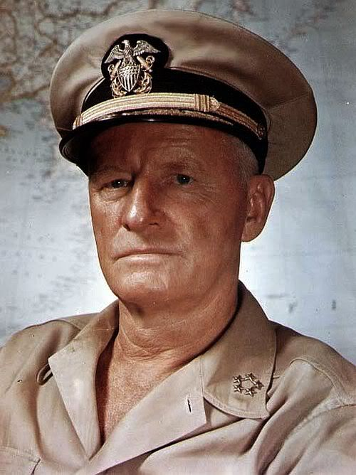 "Adm Chester Nimitz- ""When you're in command, COMMAND!"""