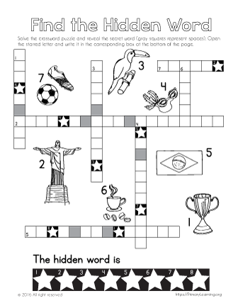 Brazil Activities | Social Studies Worksheets - PrimaryLearning ...