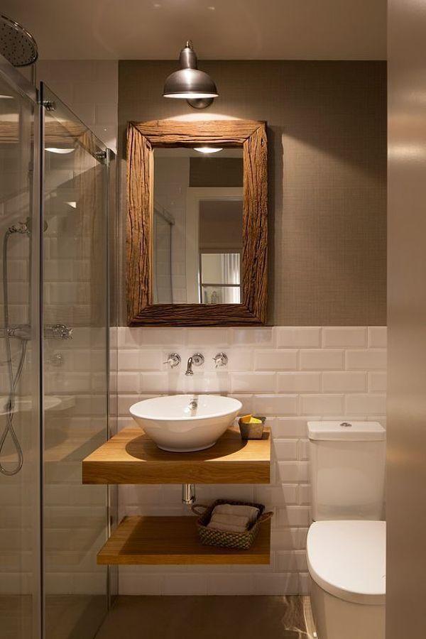 Más de 33 Ideas para decorar un baño pequeño - Moda en ...