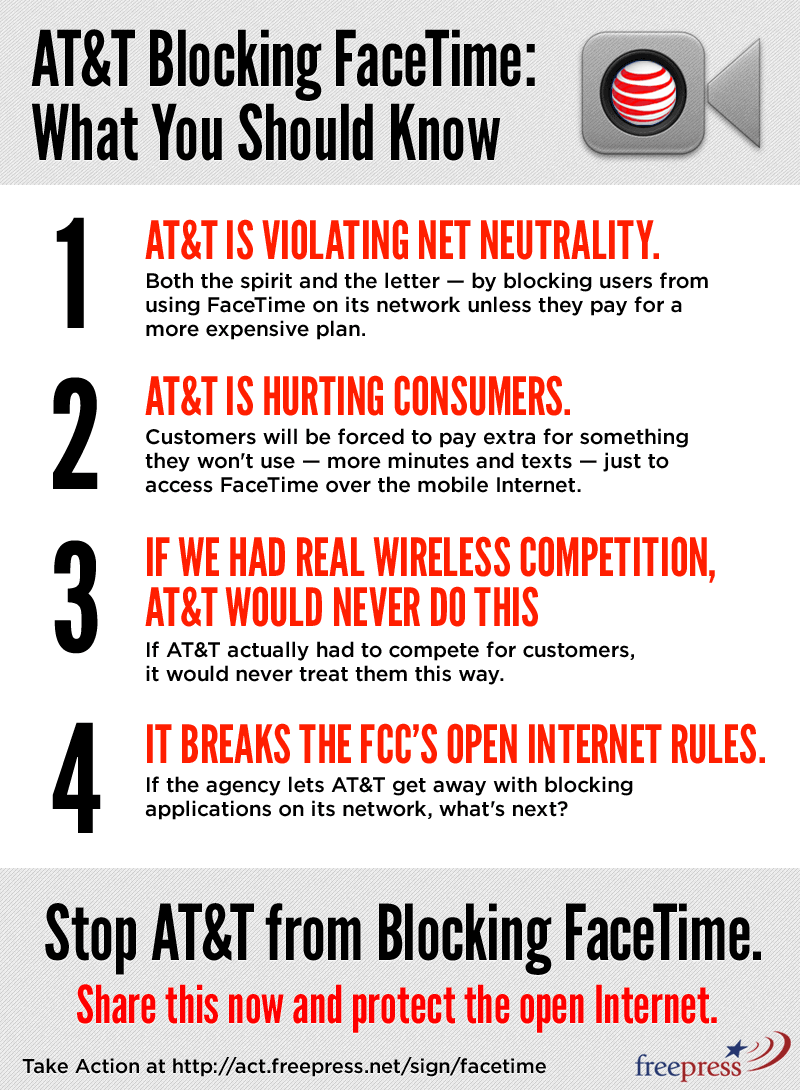 At T Hates Net Neutrality Save The Internet Net Neutrality Facetime