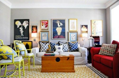 vintage eclectic living rooms | ... eclectic living room. The ...