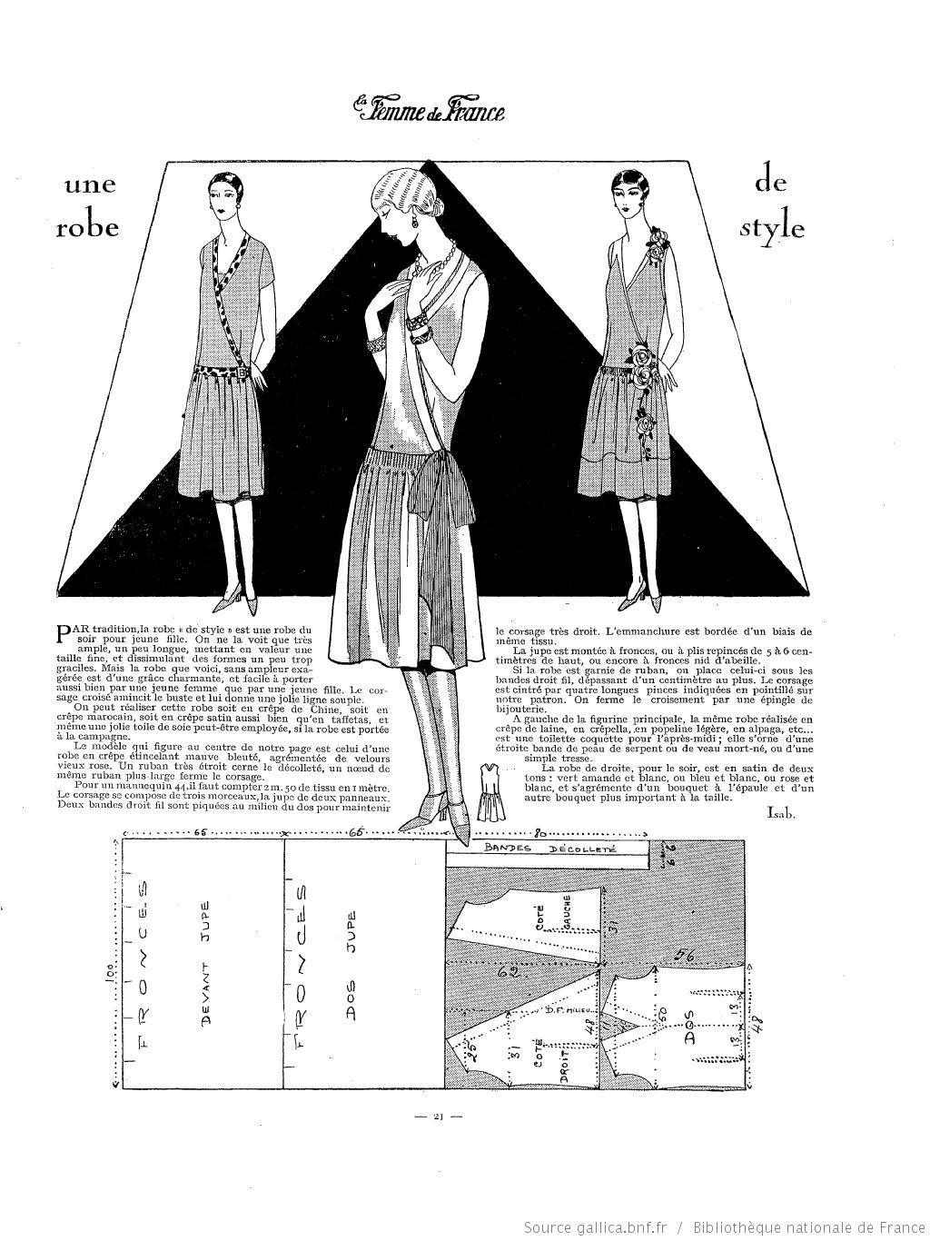 La Femme de France | france 1920 | Pinterest | Moda vintage ...