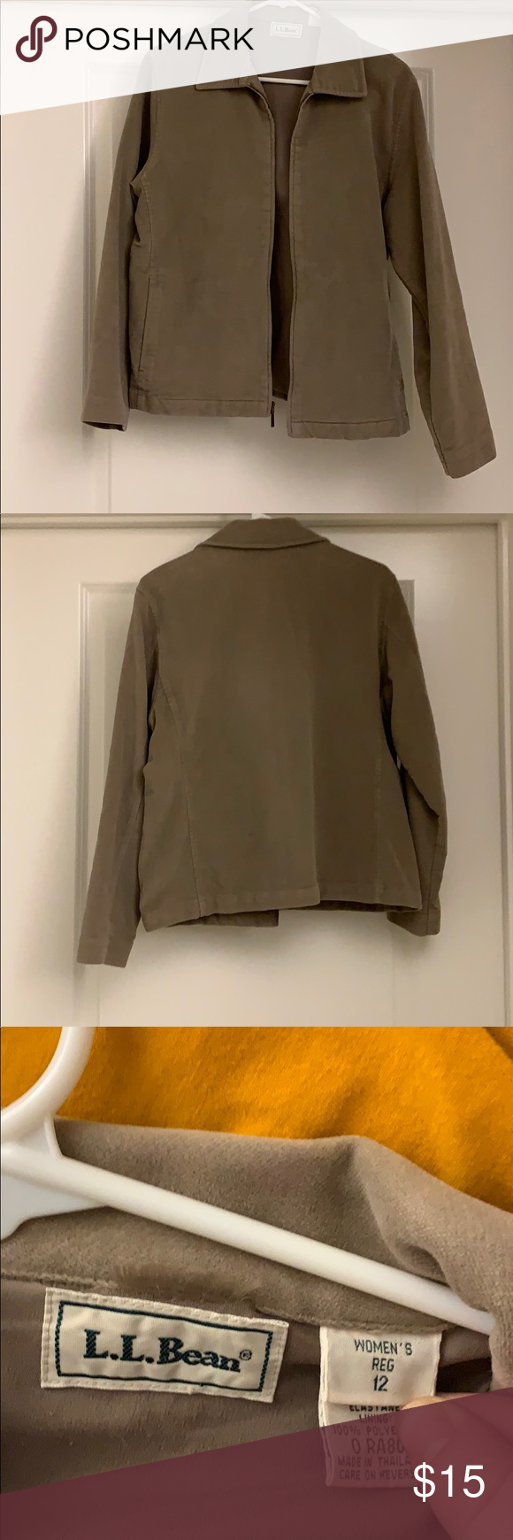 Blazer LL bean Blazer I used to dress up an interview outfit Worn once (got the ...