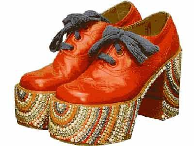Do You Remember Platform Shoes? | Platform shoes, Europe and The 1970s