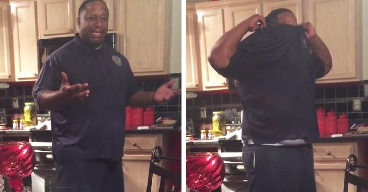 After Years Of Trying To Start A Family This Man Got The Best - Man reacts when he finds out his wife is pregnant after 17 years of trying