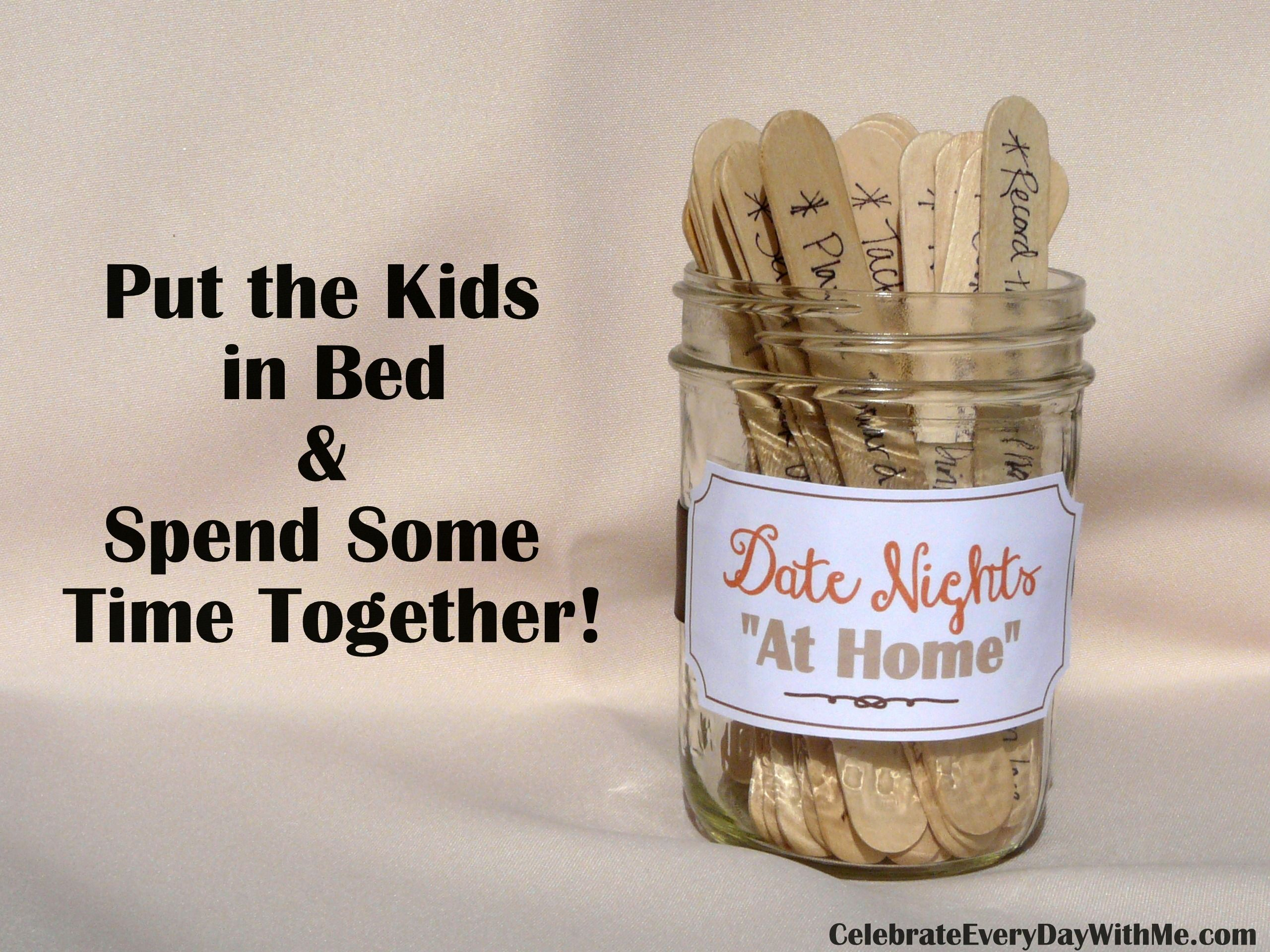 Ideas for date nights quot at home gift craft and