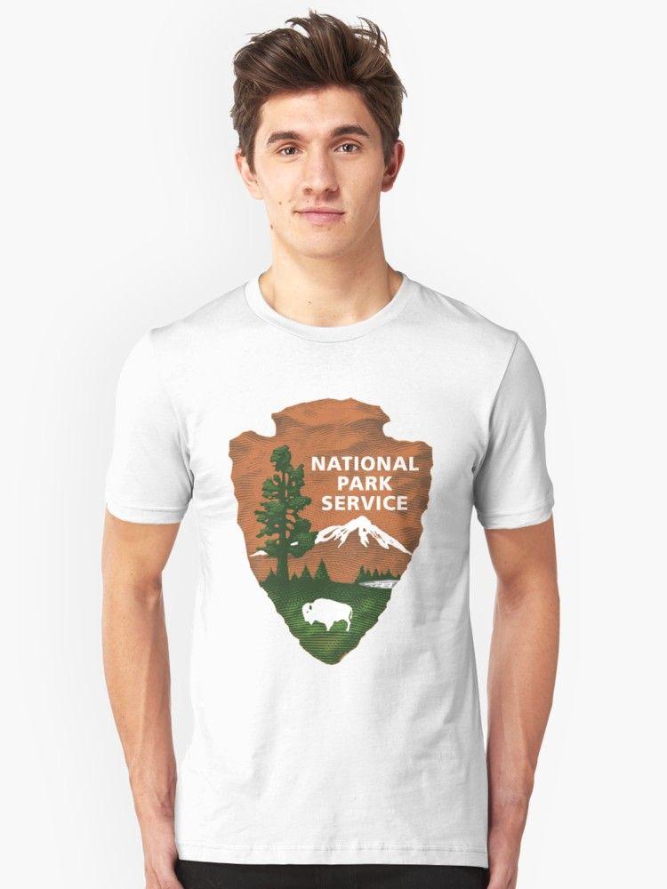 'National Park Service Logo' Classic TShirt by Debbie