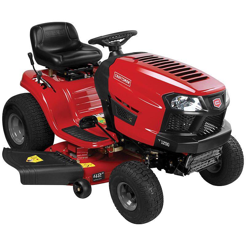 Craftsman 20372 42 Automatic 420cc Riding Mower Lawn Tractor Craftsman Riding Lawn Mower Riding Mower