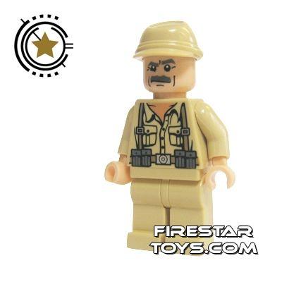 LEGO Indiana Jones Mini Figure - German Soldier 4 | Indiana Jones LEGO Minifigures | LEGO Minifigures | FireStar Toys